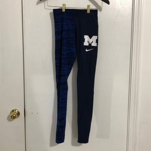 Nike Michigan Wolverines Women's Tights Leggings